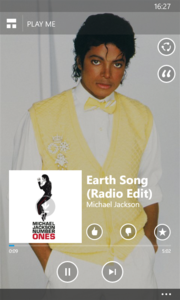 "You can stream music for free with ""Mix Radio""."
