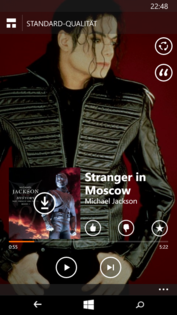 "The App ""Mix Radio"" still provides free music streams on Microsoft devices."
