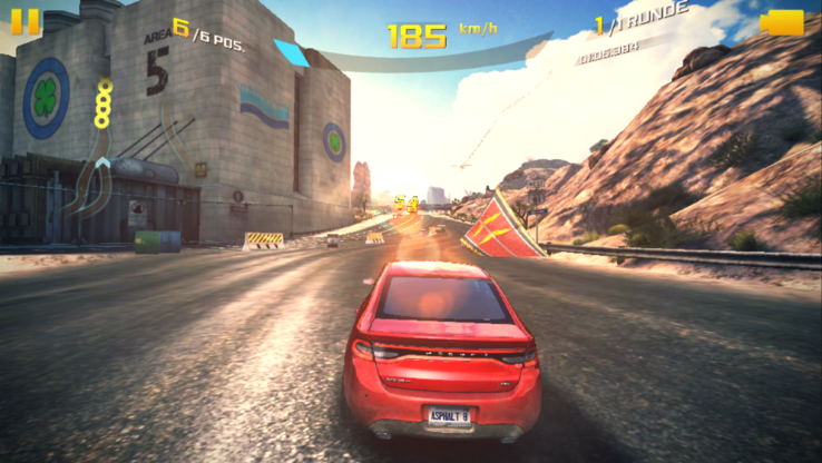 Not stutter-free at the native resolution: Asphalt 8.
