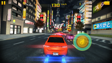More sophisticated games like Asphalt 8: Airborne can also be played.