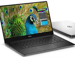 Familiar face: Dell XPS 13-9350 in the matte FHD version.