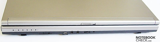 Toshiba Tecra M9 interfaces