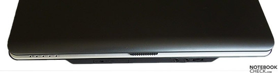 Toshiba Satellite M100-165 interfaces