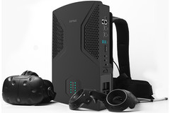 Zotac's VR GO backpack PC offers VR gaming on the go. (Source: Zotac)