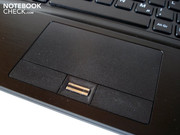 The touchpad proved to be precise and reliable.
