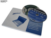 Included in the package is a user manual and a drivers-and-tools DVD.