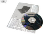 The package contents included a short introduction manual and a drivers and tools DVD.