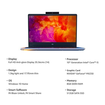The Mi Notebook 14. (Image source: Xiaomi)