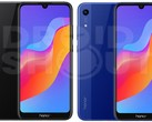 The renders of the Honor 8A suggest a glass or plastic back. (Source: Droid Shout)