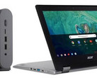 Chrome OS devices will receive an update to version 66. (Source: Acer)