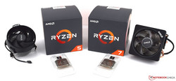 AMD's new desktop class CPUs: Ryzen 5 2600X and Ryzen 7 2700X
