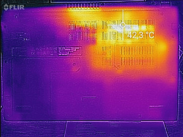 Aspire 3 heat map load - bottom