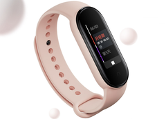 The Xiaomi Mi Band 5 with NFC costs 229 yuan (US$32). (Image source: Xiaomi)