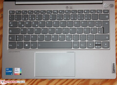 Standard keyboard without ThinkPad refinements