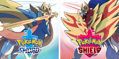 Pokémon Sword and Pokémon Shield are the first 8th-generation Pokémon games. (Image source: Nintendo)