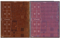 The Apple A12X and the A12Z are exactly the same chip but the Z gets all eight GPU cores enabled. (Source: Apple)