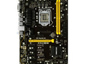 The TB250-BTC+ motherboard features a moistureproof PCB and over current / voltage / heat protections. (Source: Biostar)