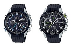 The EDIFICE Connected range. (Source: Casio)