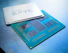 AMD is also expected to launch a 64-core / 128-thread EPYC CPU. (Source: AMD)