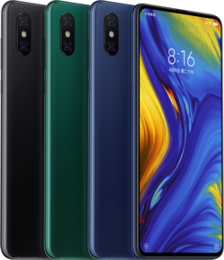 Color versions of the Mi Mix 3