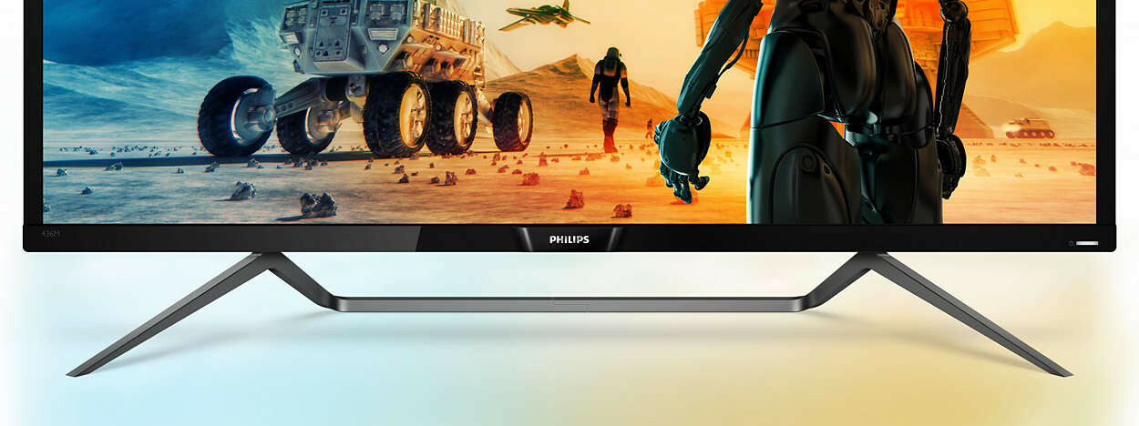 Philips Momentum 436M6VBPAB 4K Desktop Monitor Review