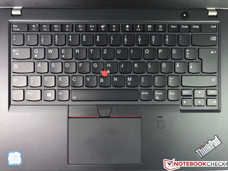 Input devices ThinkPad T480s