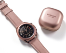 Samsung is expected to release new Galaxy Buds and Galaxy Watch devices this year, Buds Live and Watch 3 pictured. (Image source: Samsung)