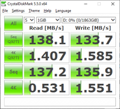 CDM 5.5 (Secondary Seagate HDD)