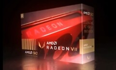 It's not yet been confirmed if the red AMD Radeon VII is a genuine product. (Source: VideoCardz)