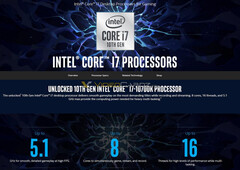 Intel Core i7-10700K. (Image source: Intel/VideoCardz)