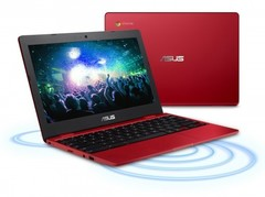 Asus Chromebook C223 in red (Source: Asus)