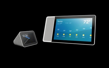 Lenovo Smart Clock and Smart Display. (Source: Lenovo)