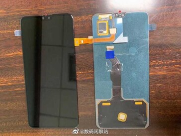 The 2 new images linked to the Mate 30. (Source: Weibo)