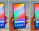 Several renders of the Samsung Infinity-O display. (Source: Twitter)