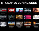 These games will support NVIDIA RTX technologies. (Source: Overclock3D)