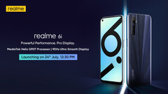 Realme will launch the Realme 6i on July 24 in India