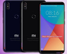 Some renders of the Mi 6X were leaked as early as this January. (Source: Target@Youtube)