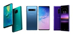 Huawei, Samsung, and Sony not likely to be teaming up anytime soon. (Source: Gizmochina/edited)