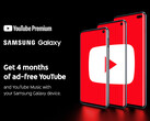 Google is offering 4 months' free YouTube Premium on Galaxy S10 devices. (Source: YouTube)