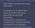 Samsung discontinues WatchON on December 31