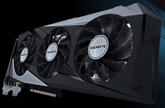 The GeForce RTX 3060 Ti Gaming OC PRO 8G (rev 2.0) graphics card. (Image source: Gigabyte)