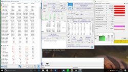 Stress test Prime95 + Furmark 2 hours: 2.8 GHz stable, 94 °C max