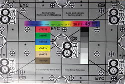 Image of test chart