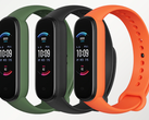 The Amazfit Band 6 comes in olive, midnight black, and orange. (Image source: AliExpress)