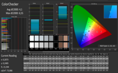 ColorChecker (sRGB): post-calibration