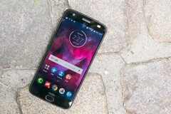 The Moto Z2 Force. (CNET)