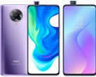 Xiaomi used pop-up cameras in the Poco F2 Pro and Mi 9T Pro/Redmi K20 Pro. (Image source: Xiaomi/GSMArena - edited)