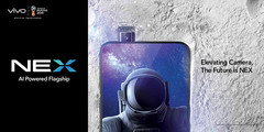 The Vivo NEX S does away with a display notch thanks to a cleverly concealed camera. (Source: Vivo)
