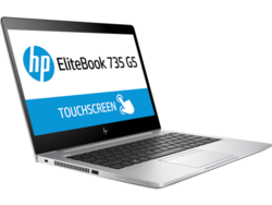 Review: HP EliteBook 735 G5. Test device supplied by HP Germany.