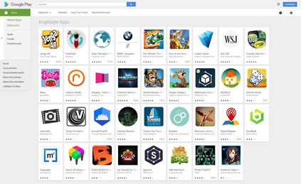 As of today, only 30 Tango apps are available for download in Google's Play Store.